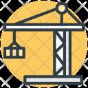 Construction Crane Equipment Icon