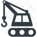 Construction Crane Machine Icon