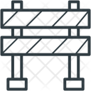 Construction Barrier Under Icon