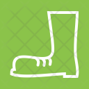 Construction Boots Safety Icon