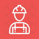 Construction Worker Work Icon