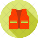 Construction Jacket Safety Icon