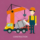 Construction Building Architecture Icon