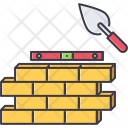 Construction Wall Brick Icon