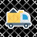 Construction Vehicle Cargo Icon