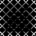 Construction Mason Bricks Icon