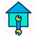 Start Construction Of House Building House Start Building Icon
