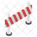 Construction Barricade Barrier Obstacle Icon