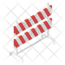 Construction Barricade Barrier Road Sign Icon