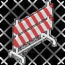 Construction Barricade Icon
