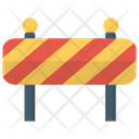 Construction Barrier Road Barrier Barricade Icon