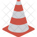 Construction Barrier Construction Cone Road Block Icon