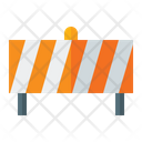 Construction Barrier Barrier Fence Barrier Icon