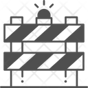 Construction Barrier Construction Barrier Icon