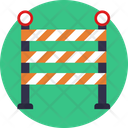Protest Barrier Traffic Icon