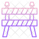 Construction Barrier Barrier Fence Icon