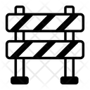 Obstacle Construction Barrier Impediment Icon
