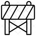 Block Barriers Construction Icon