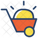 Handcart Worker Project Icon