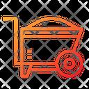 Renovation Construction Cart Cart Icon