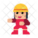 Construction Character Icon