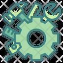 Construction Cogwheel Maintenance Gear Icon