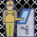 Construction Worker Civil Work Construction Laborer Icon
