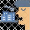 Construction Corruption Icon