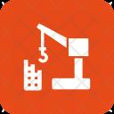 Construction Crane Machine Icon