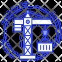Crane Forklift Construction Crane Icon
