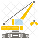 Construction Crane Crane Construction Vehicle Icon
