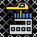 Build Construction Crane Icon Icon