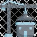 Crane House Home Icon