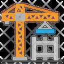 Construction Crane Estate Icon