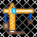 Crane Construction Machine Icon
