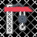 Crane Hook Construction Icon