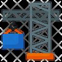 Crane Industry Engineering Icon