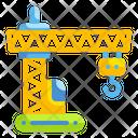 Construction Crane Crane Construction Icon