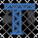 Crane Construction Laborday Icon