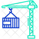 Construction Crane Tower Crane Lifting Hook Icon