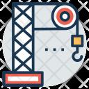 Tower Crane Heavy Icon
