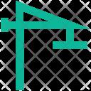 Construction Crane Site Icon
