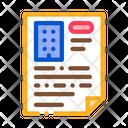Construction Document Icon