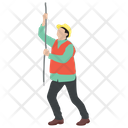 Construction Electrician Icon