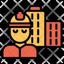 Civil Engineer Building Engineer Building Icon
