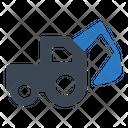 Construction Excavator Icon