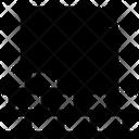 File Document Brick Icon