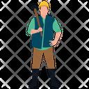 Construction Labour Icon