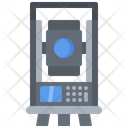 Total Station Building Icon