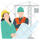 Construction Management Icon